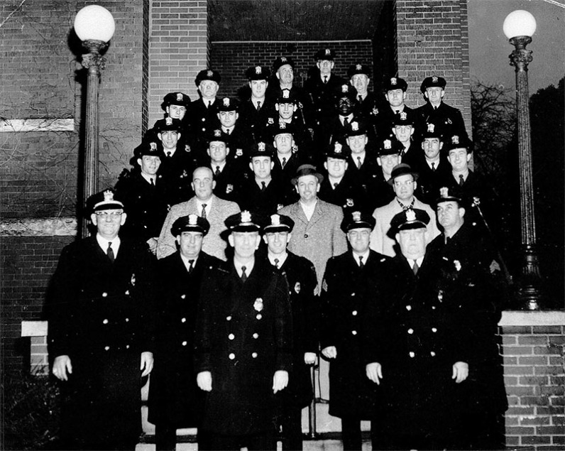 LPD Officers 1958
