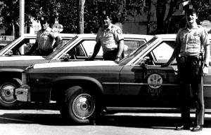 LPD Officers Cars 1982